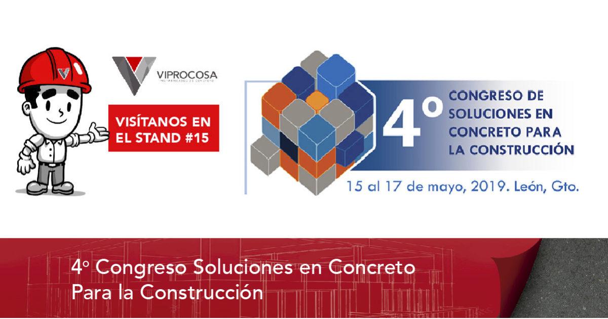 4 congreso soluciones en concreto para la construccion