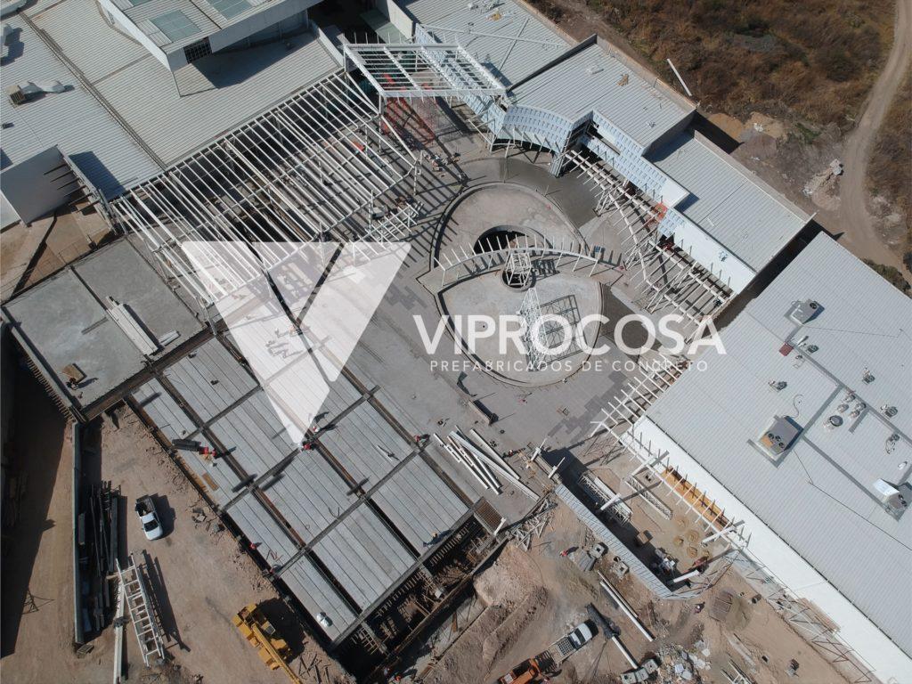 VIPROCOSA Ampliacion Estacionamiento Subterraneo Factory Shops