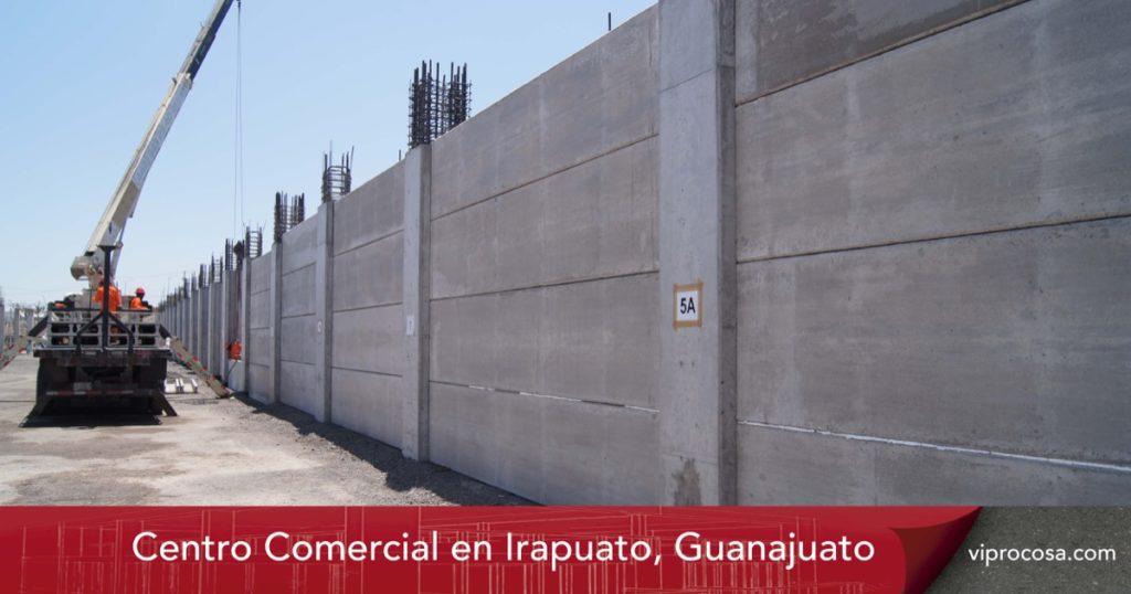 VIPROCOSA Extrulosa Prefabricado Concreto Centro Comercial Irapuato